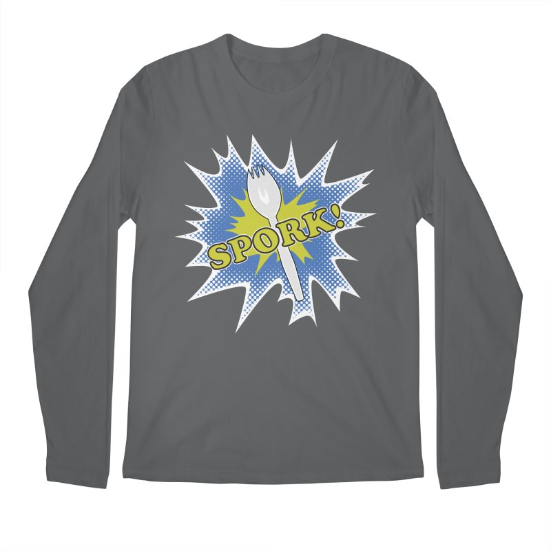 Spork! Men's Longsleeve T-Shirt by TCarver T-shirt Designs