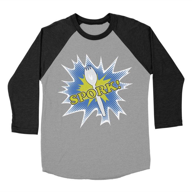 Spork! Women's Baseball Triblend T-Shirt by TCarver T-shirt Designs