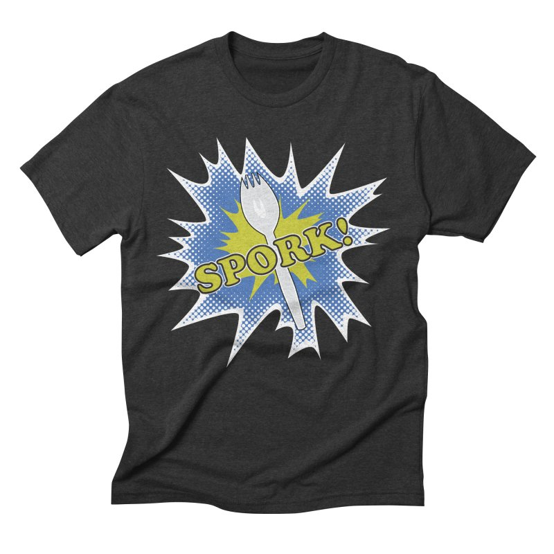 Spork! Men's Triblend T-shirt by TCarver T-shirt Designs