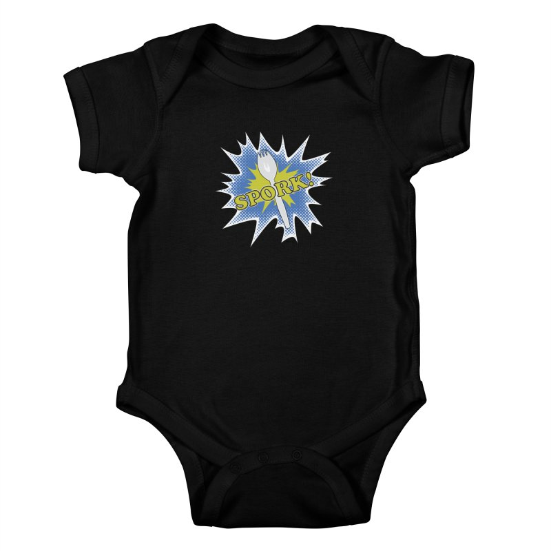 Spork! Kids Baby Bodysuit by TCarver T-shirt Designs