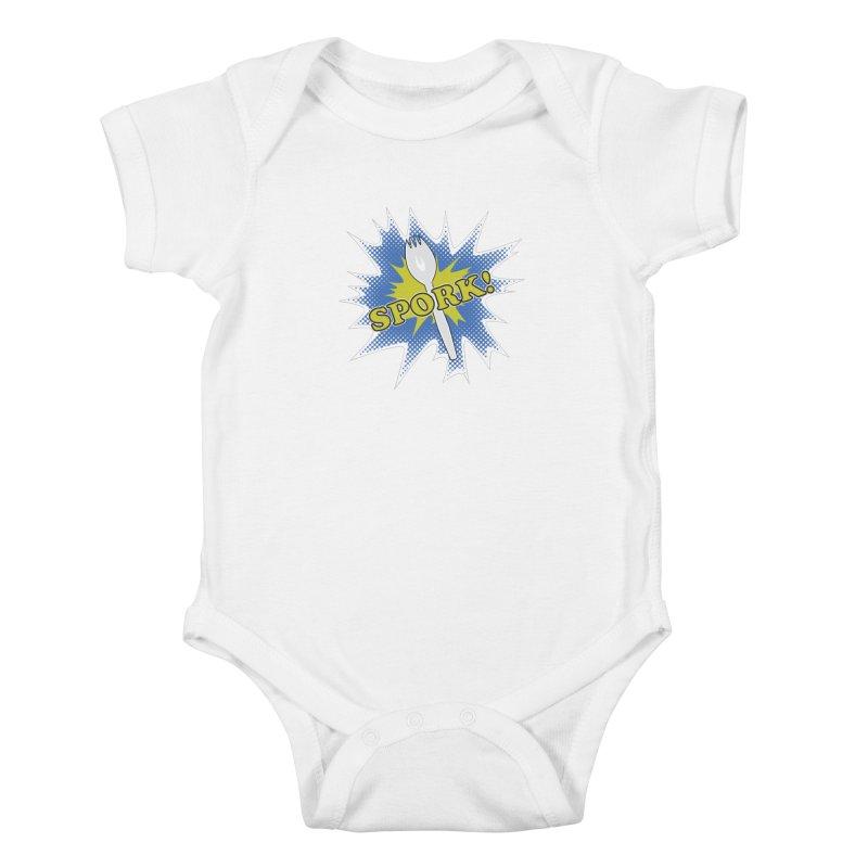Spork! Kids Baby Bodysuit by TCarver T-shirt Designs