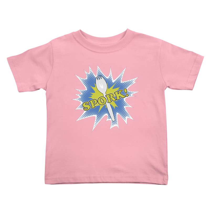 Spork! Kids Toddler T-Shirt by TCarver T-shirt Designs