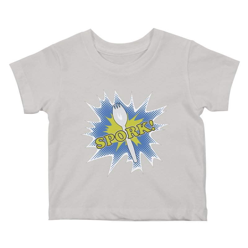 Spork! Kids Baby T-Shirt by TCarver T-shirt Designs