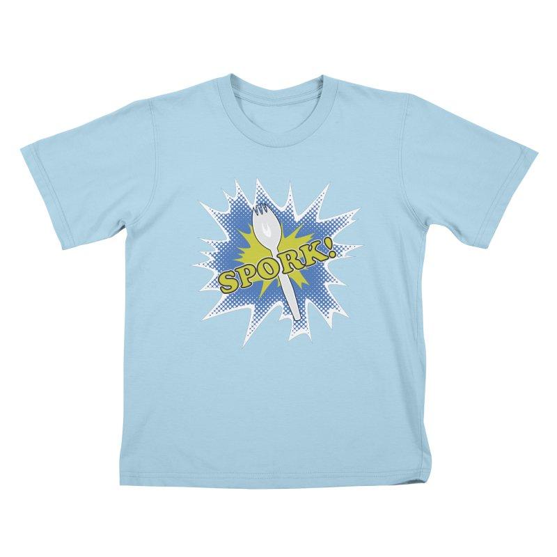 Spork! Kids T-Shirt by TCarver T-shirt Designs