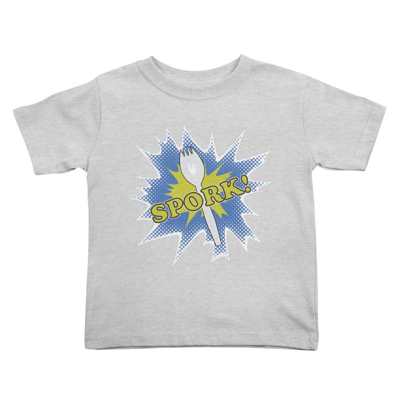 Spork! Kids Toddler T-Shirt by TCarver T-shirt Designs