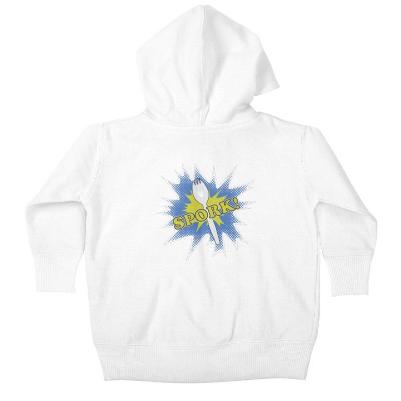 Spork! Kids Baby Zip-Up Hoody by TCarver T-shirt Designs