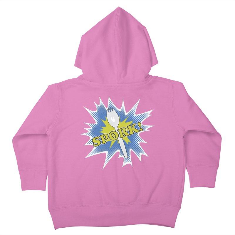Spork! Kids Toddler Zip-Up Hoody by TCarver T-shirt Designs