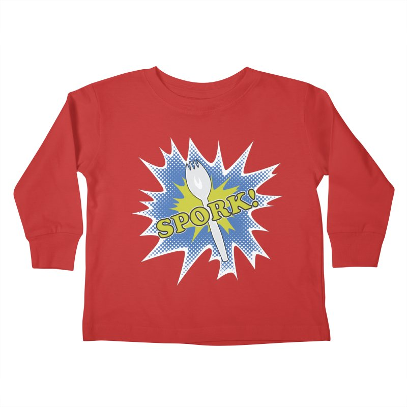Spork! Kids Toddler Longsleeve T-Shirt by TCarver T-shirt Designs