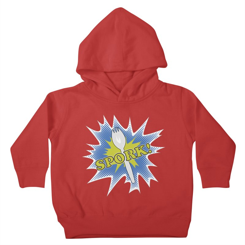 Spork! Kids Toddler Pullover Hoody by TCarver T-shirt Designs