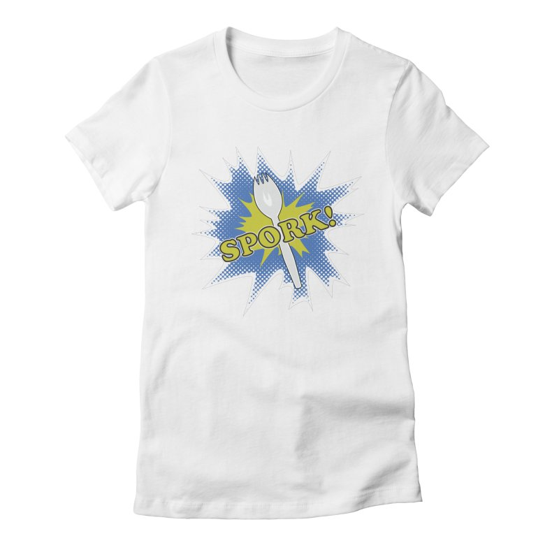 Spork! Women's Fitted T-Shirt by TCarver T-shirt Designs