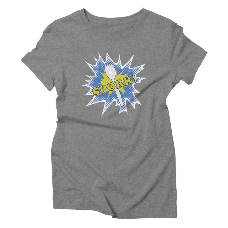 Spork! Women's Triblend T-Shirt by TCarver T-shirt Designs