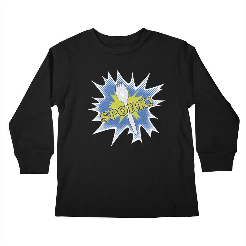 Spork! Kids Longsleeve T-Shirt by TCarver T-shirt Designs