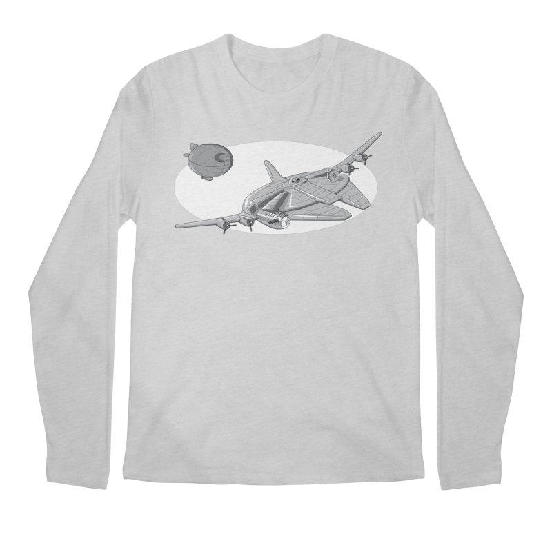 Centenium Falcon Men's Longsleeve T-Shirt by TCarver T-shirt Designs