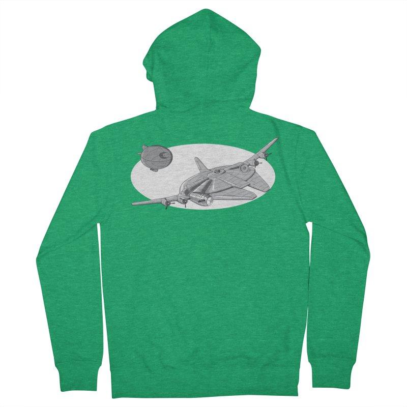 Centenium Falcon Women's Zip-Up Hoody by TCarver T-shirt Designs