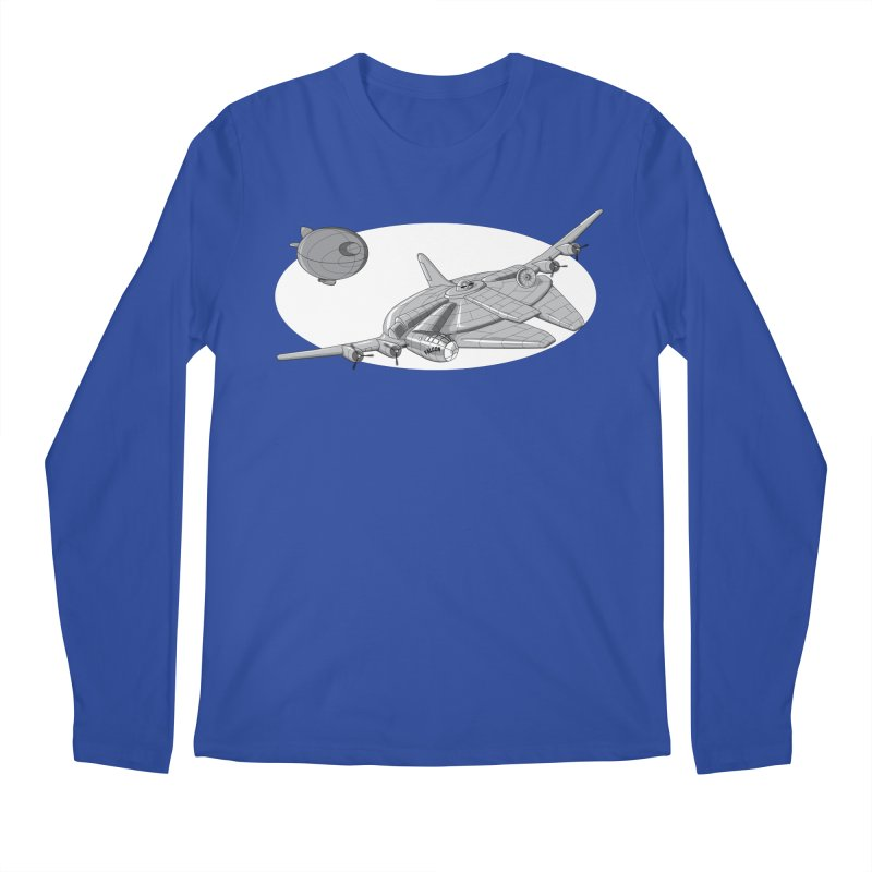 Centenium Falcon Men's Longsleeve T-Shirt by TCarver T-shirt Designs