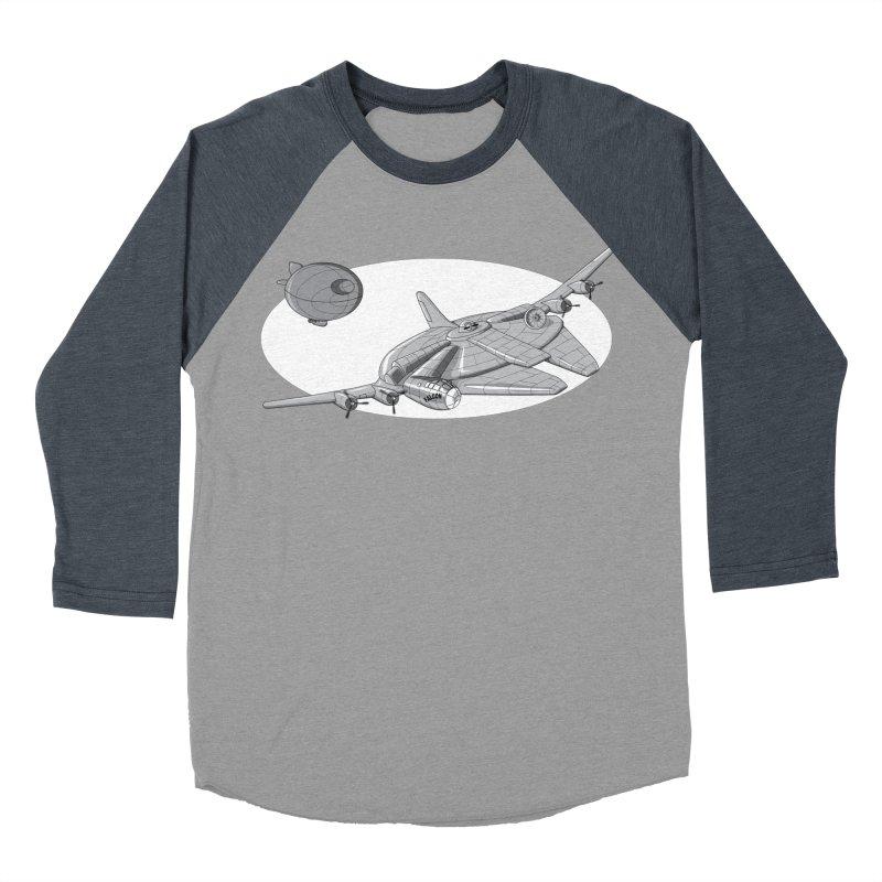 Centenium Falcon Women's Baseball Triblend T-Shirt by TCarver T-shirt Designs