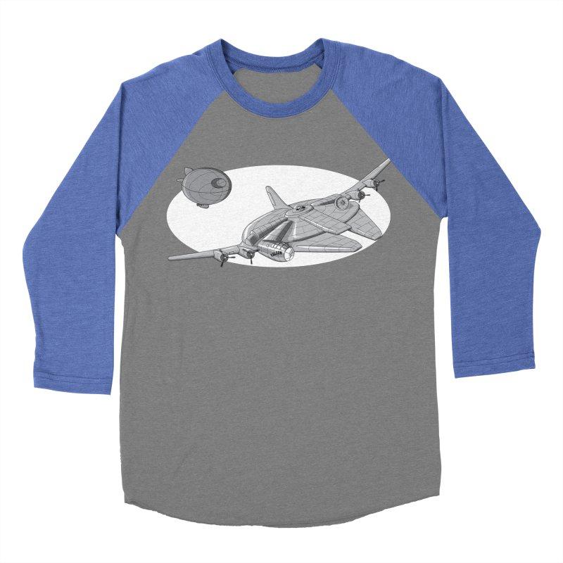 Centenium Falcon Men's Baseball Triblend T-Shirt by TCarver T-shirt Designs