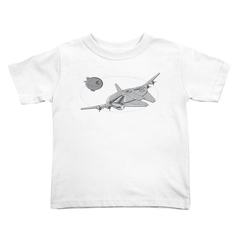 Centenium Falcon Kids Toddler T-Shirt by TCarver T-shirt Designs