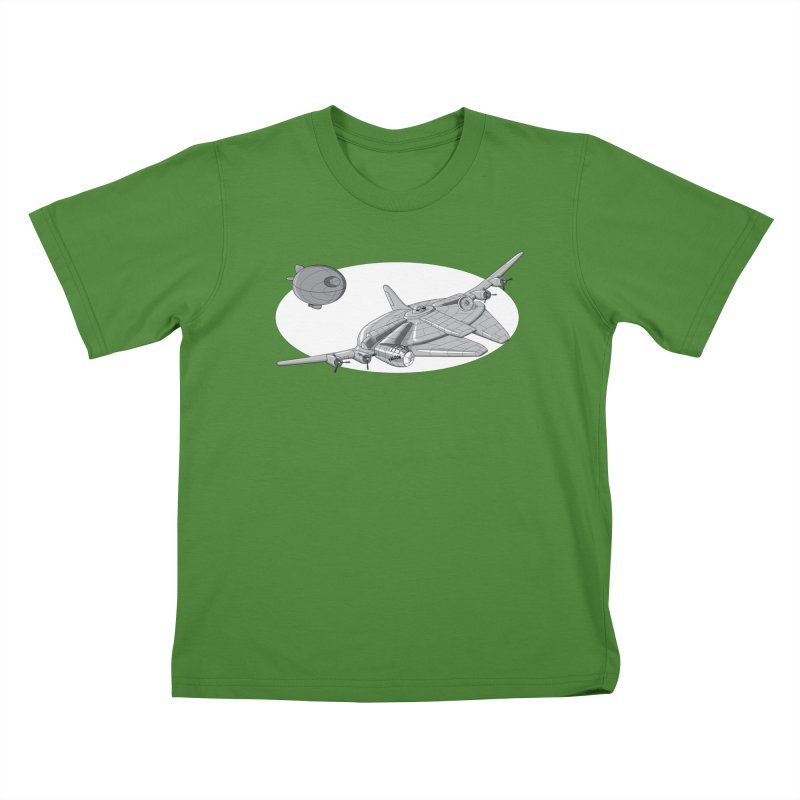 Centenium Falcon Kids T-Shirt by TCarver T-shirt Designs