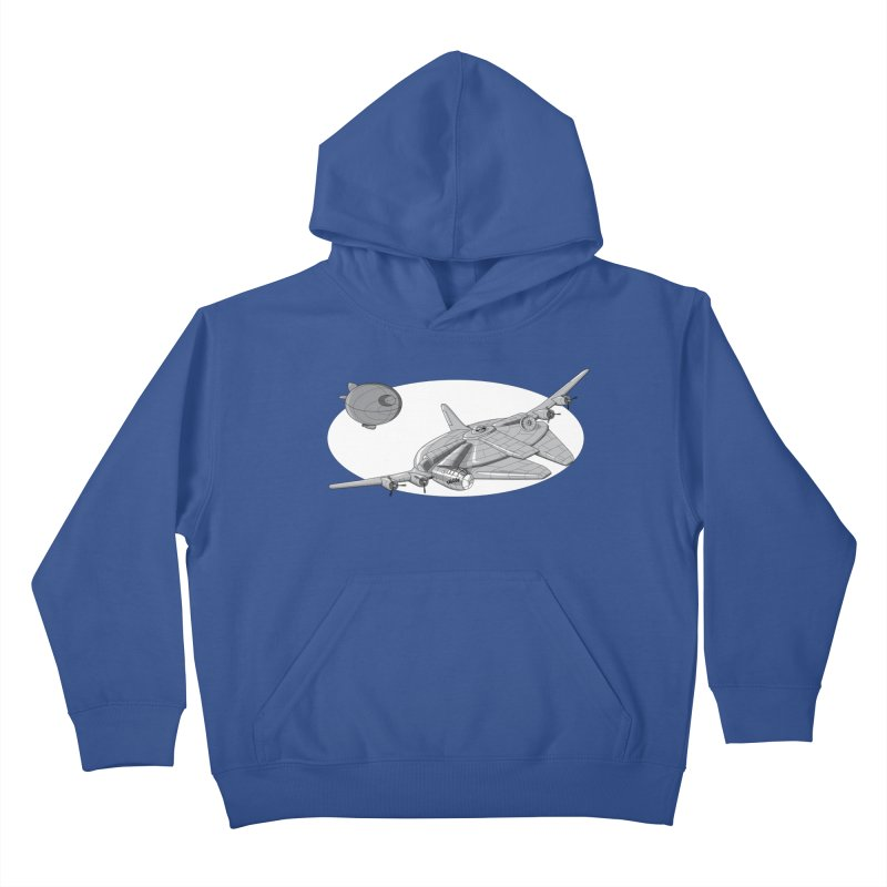 Centenium Falcon Kids Pullover Hoody by TCarver T-shirt Designs