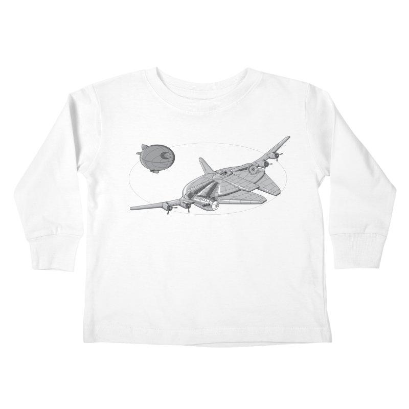 Centenium Falcon Kids Toddler Longsleeve T-Shirt by TCarver T-shirt Designs