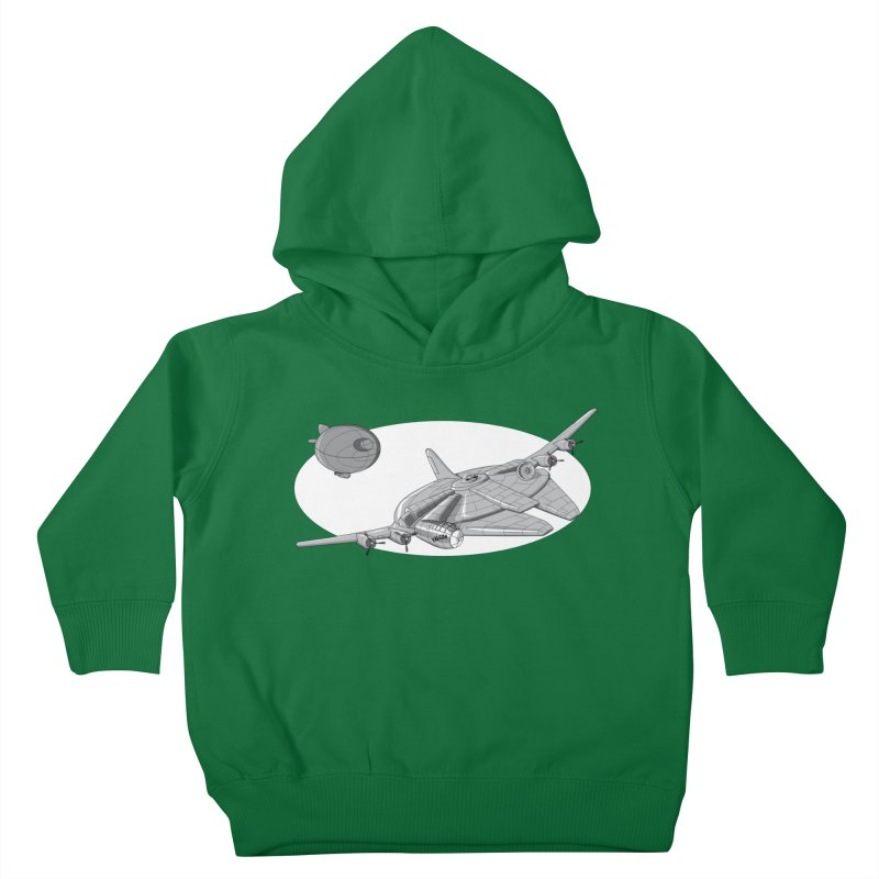 Centenium Falcon Kids Toddler Pullover Hoody by TCarver T-shirt Designs
