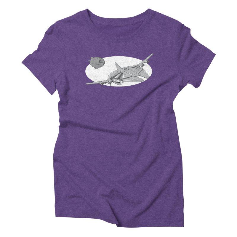 Centenium Falcon Women's Triblend T-shirt by TCarver T-shirt Designs