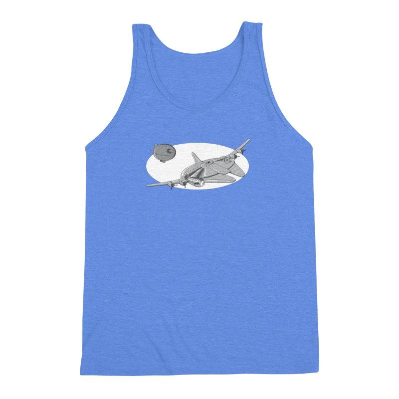 Centenium Falcon Men's Triblend Tank by TCarver T-shirt Designs