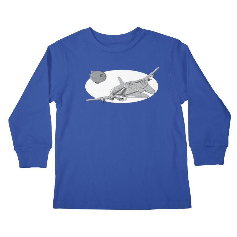 Centenium Falcon Kids Longsleeve T-Shirt by TCarver T-shirt Designs