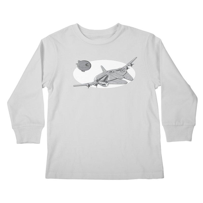 Centenium Falcon Kids Longsleeve T-Shirt by TCarver T-shirt Designs