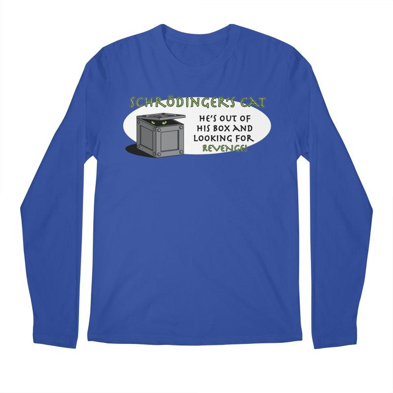 Schrodinger's Cat Men's Longsleeve T-Shirt by TCarver T-shirt Designs