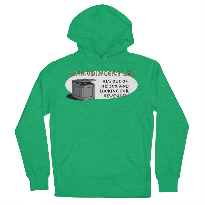 Schrodinger's Cat Women's Pullover Hoody by TCarver T-shirt Designs