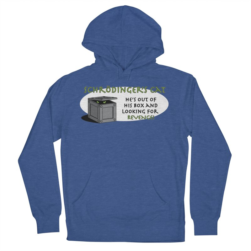 Schrodinger's Cat Men's Pullover Hoody by TCarver T-shirt Designs