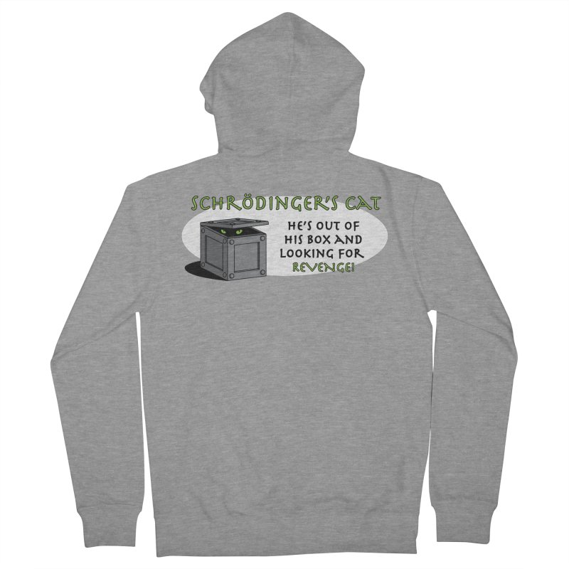 Schrodinger's Cat Women's Zip-Up Hoody by TCarver T-shirt Designs
