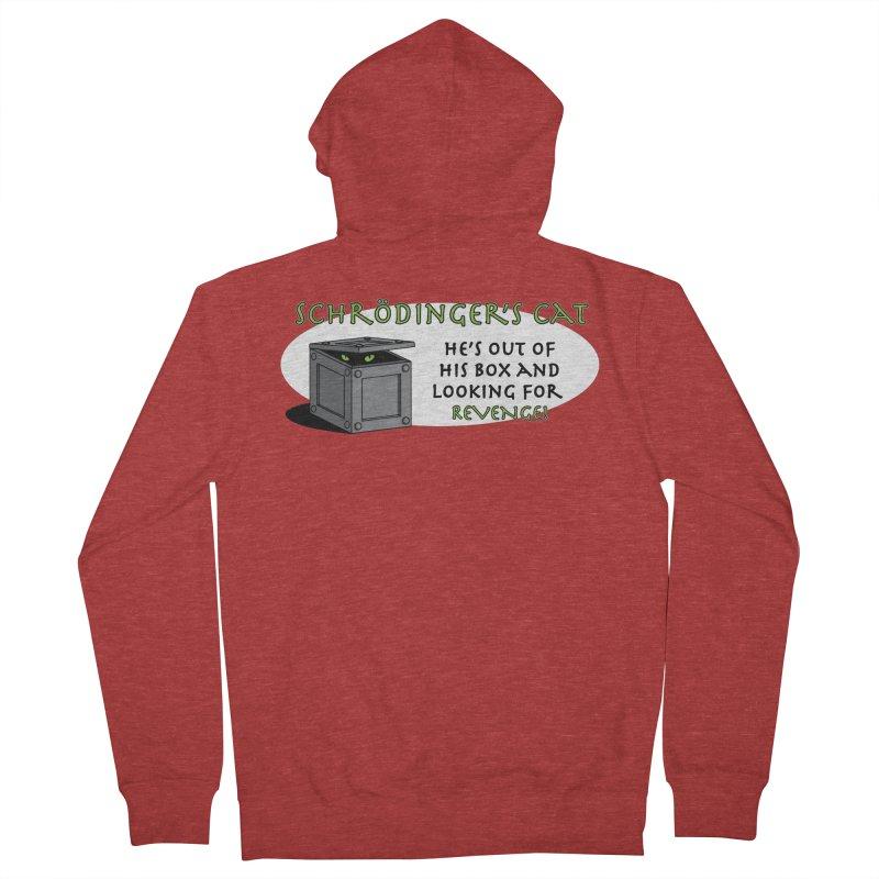 Schrodinger's Cat Men's Zip-Up Hoody by TCarver T-shirt Designs