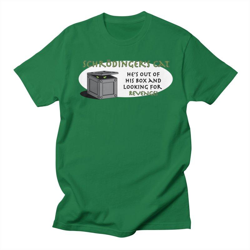 Schrodinger's Cat Men's T-shirt by TCarver T-shirt Designs