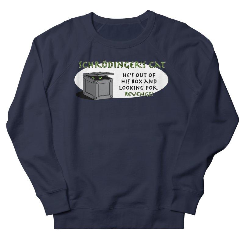 Schrodinger's Cat Women's Sweatshirt by TCarver T-shirt Designs
