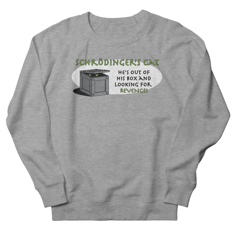 Schrodinger's Cat Men's Sweatshirt by TCarver T-shirt Designs