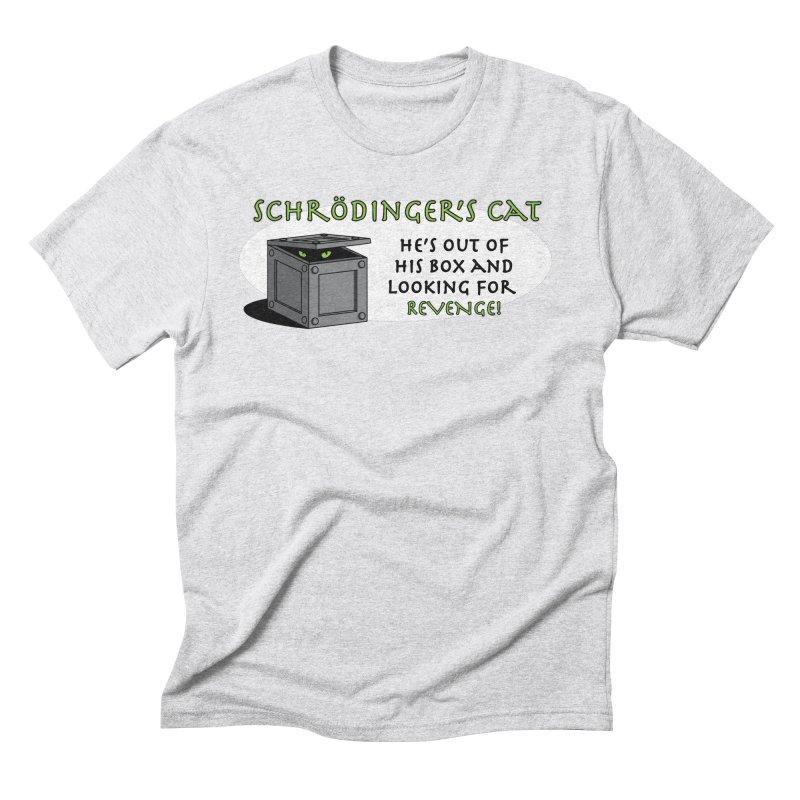 Schrodinger's Cat Men's Triblend T-Shirt by TCarver T-shirt Designs