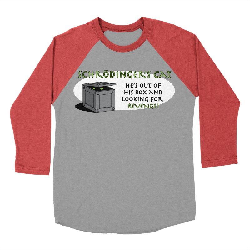 Schrodinger's Cat Women's Baseball Triblend T-Shirt by TCarver T-shirt Designs