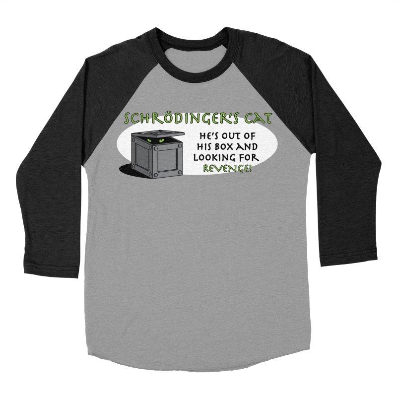 Schrodinger's Cat Men's Baseball Triblend T-Shirt by TCarver T-shirt Designs