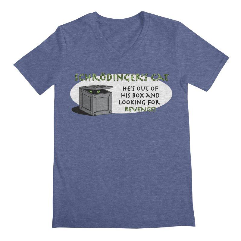 Schrodinger's Cat Men's V-Neck by TCarver T-shirt Designs