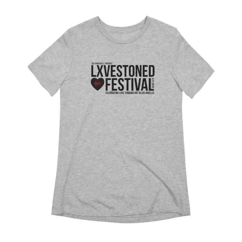 LXSTONED FESTIVAL Women's Extra Soft T-Shirt by TDUB951