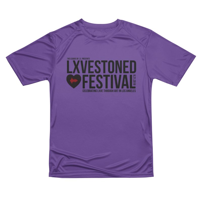 LXSTONED FESTIVAL Men's Performance T-Shirt by TDUB951