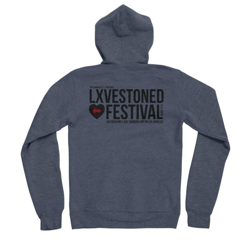 LXSTONED FESTIVAL Women's Sponge Fleece Zip-Up Hoody by TDUB951