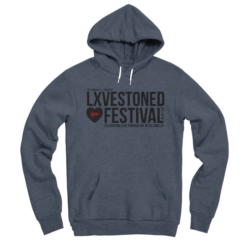 LXSTONED FESTIVAL Men's Sponge Fleece Pullover Hoody by TDUB951