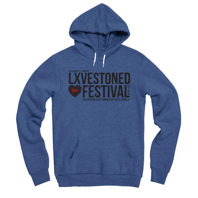 LXSTONED FESTIVAL Men's Sponge Fleece Pullover Hoody by TDUB951