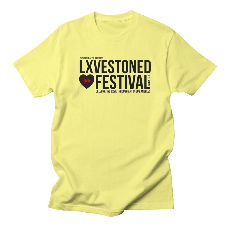 LXSTONED FESTIVAL Men's Regular T-Shirt by TDUB951