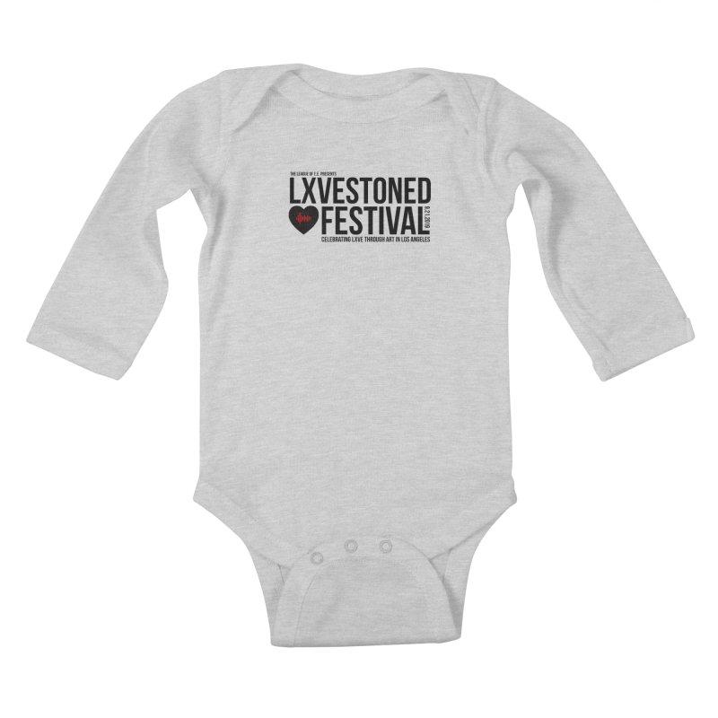 LXSTONED FESTIVAL Kids Baby Longsleeve Bodysuit by TDUB951