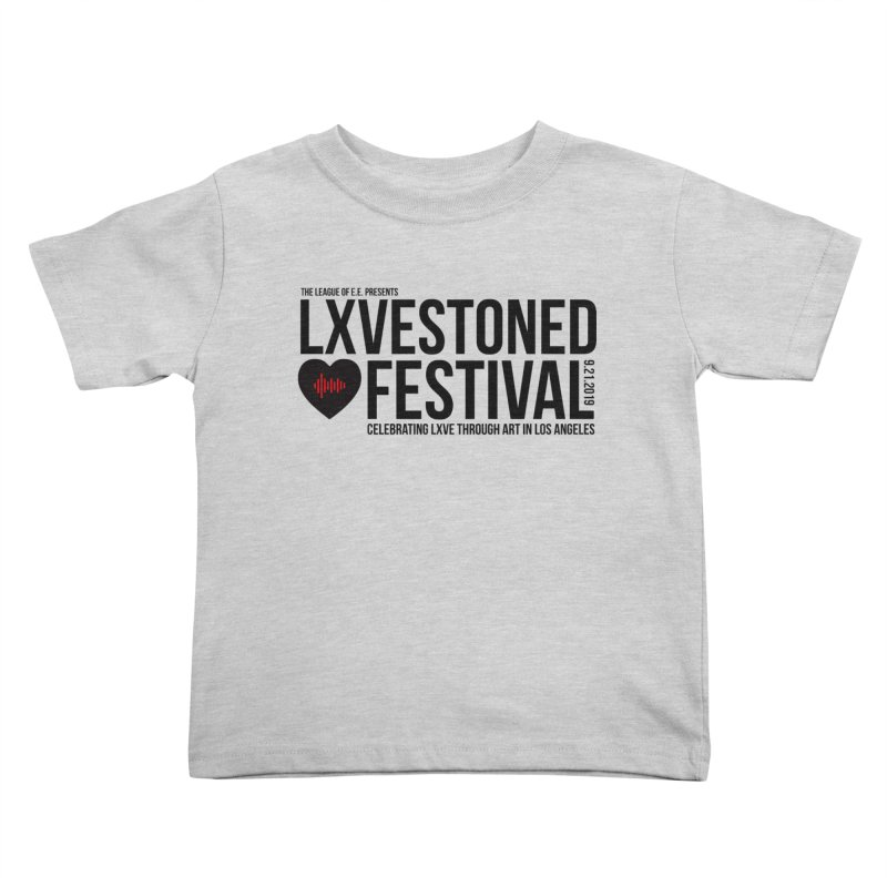 LXSTONED FESTIVAL Kids Toddler T-Shirt by TDUB951